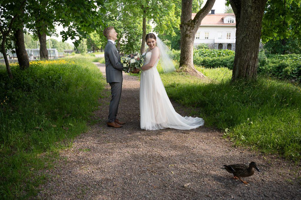 Kaitlin & Tobias bröllopsdag i Fagersta